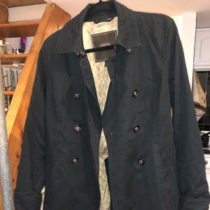 Coach trench coat black